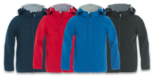 Clique Basic Softshell Jacket Junior 020909